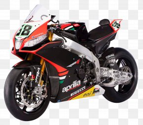 Aprilia RSV4 Factoy APRC Sport Motorcycle Bike - FIM Superbike World Championship Motorcycle Aprilia RSV4 Sport Bike PNG