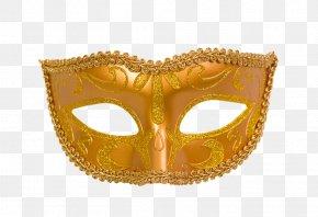 Golden Mask - Mask Gold Ball Designer PNG