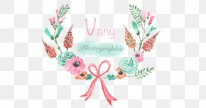 Photographe - Floral Design Watercolor Painting Clip Art PNG