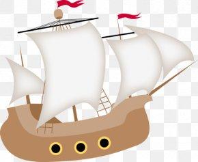 Cartoon Pirate Ship - Piracy Boat Clip Art PNG