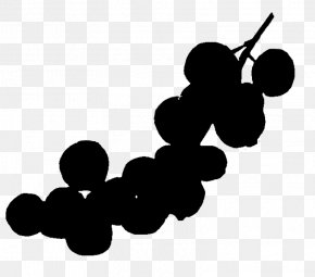 Food Blackandwhite - Grape Cartoon PNG