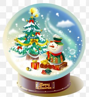 Christmas Crystal Ball PNG