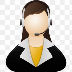 Customer Service - Neck Communication Facial Hair Operator PNG