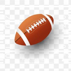 Vector American Football Material - NFL Super Bowl American Football Fantasy Football PNG