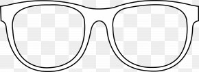 Frame Outline Cliparts - Glasses Black And White Brand PNG