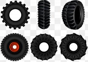 Vector Snow Tires - Tire Euclidean Vector Tractor Vecteur PNG