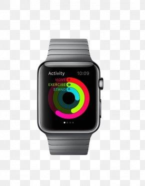 Black Watch - Apple Watch Series 2 Smartwatch PNG
