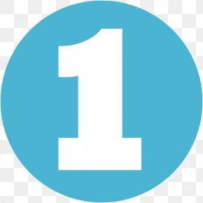 Number 1 - Number Clip Art PNG