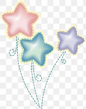 Star - Birthday Cake Gift Greeting Card PNG