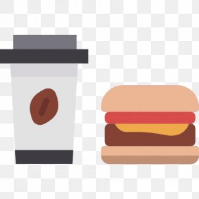 Fast-food Restaurant - Hamburger Junk Food Fizzy Drinks Fast Food Cheeseburger PNG