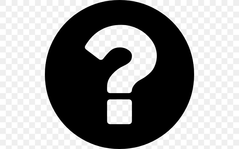 Question Mark Icon Wallpaper, PNG, 512x512px, Question Mark, Black And White, Brand, Faq, Font Awesome Download Free