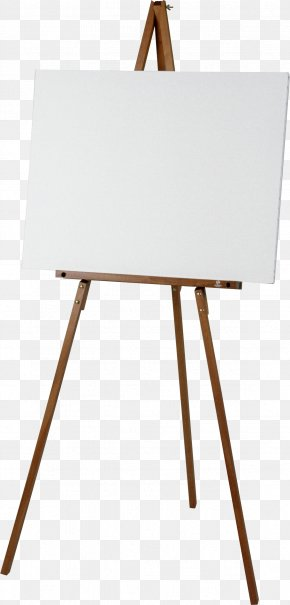 Painting - Easel Painter Painting PNG