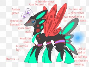 IT Trade Fair Poster - Horse Illustration Cartoon Insect Font PNG
