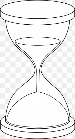 Hour Glass - Hourglass Coloring Book Drawing Clip Art PNG