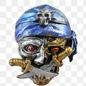 Pirate Skull - Skull T-shirt Piracy Head Ashtray PNG