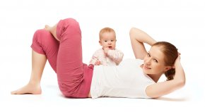 Mother - Physical Fitness Mother Physical Exercise Postpartum Period Fitness Centre PNG