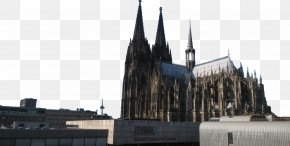 Cologne Cathedral Vision - Facade Place Of Worship PNG