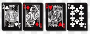 Ace Card - Black Tiger Bicycle Playing Cards Pip PNG