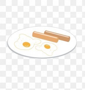 Vector Sausage Egg - Cartoon Food Catering PNG
