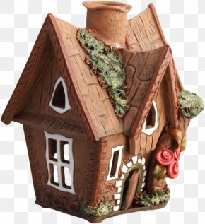 Building - Gingerbread House Building Clay Clip Art PNG