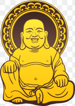 Lord Buddha Vector - Golden Buddha Gautama Buddha Illustration PNG