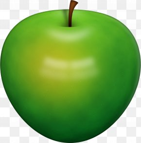 Green Apple - Apple Icon Clip Art PNG