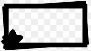 Blackandwhite Picture Frame - Background Black Frame PNG