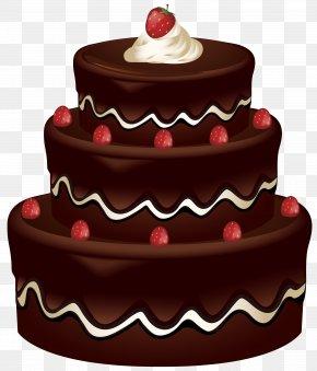 Cake Clip Art Image - Chocolate Cake Birthday Cake Red Velvet Cake Clip Art PNG