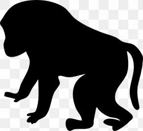 Orangutan Clipart - Mandrill Primate Clip Art PNG