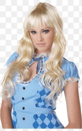 Halloween - Wig Halloween Costume Blond PNG