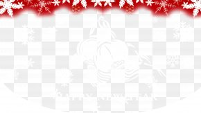 Red Snowflake Background - Red Black And White Pattern PNG