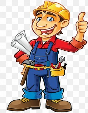 Construction Worker - Construction Worker Architectural Engineering Clip Art PNG