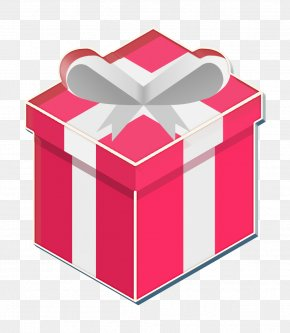Magenta Ribbon - Box Icon Gift Icon Pink Icon PNG