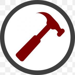 Geology Hammer - Hammer Hand Tool Clip Art PNG