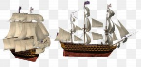 Pirate Ship - Sailing Ship Boat PNG