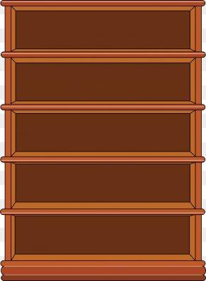 Store Shelf - Bookcase Shelf Furniture Clip Art PNG