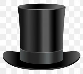 Black Top Hat Clipart - United States Of America Top Hat Clip Art PNG