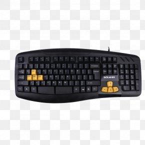 Keyboard - Black Computer Keyboard Computer Mouse PlayStation 2 USB PNG