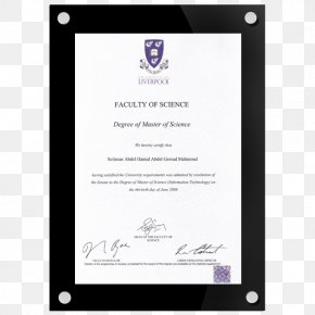 Certificate Frame - Wedding Invitation Paper Picture Frames Party Graduation Ceremony PNG