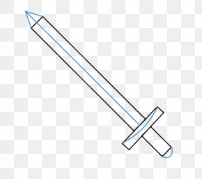 Sword - Drawing Sword Weapon Knight Katana PNG