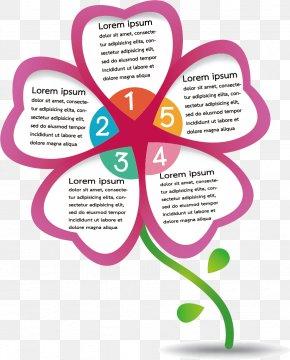 Vector Geometric Flower - Euclidean Vector Chart Element PNG