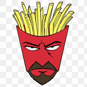 Batata FRITA - Frylock French Fries Voice Actor Cartoon Food PNG