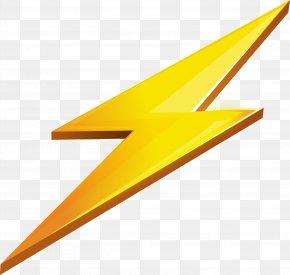 Lightning Icon - Lightning Icon Design Icon PNG
