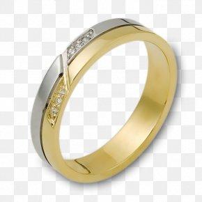 Wedding Ring - Wedding Ring Gold Białe Złoto Diamond PNG