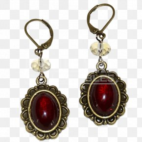 Cobochon Jewelry - Earring Victorian Era Victorian Jewellery Medieval Jewelry PNG