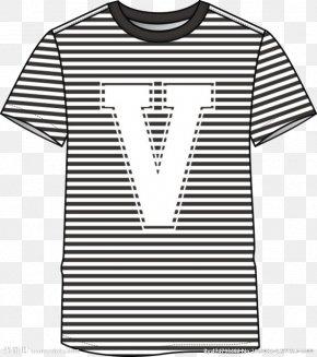V-t-shirt - Long-sleeved T-shirt Clothing Fashion PNG