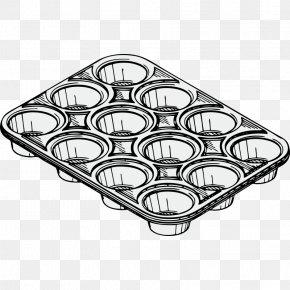 Tin Cliparts - Muffin Tin Cupcake Pancake Clip Art PNG