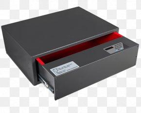 Small Safe - Safe Deposit Box Fingerprint Biometrics Lock PNG