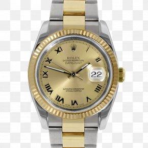 Watch - Rolex Datejust Watch Strap Watch Strap PNG