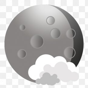 App Weather - Sphere Circle Black And White PNG